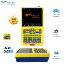 Digital Satellite Finder Meter V8 HD LCD DVB-S2 SatFinder MPEG2 MPEG4 with Battery FreeSAT FTA Sat finder