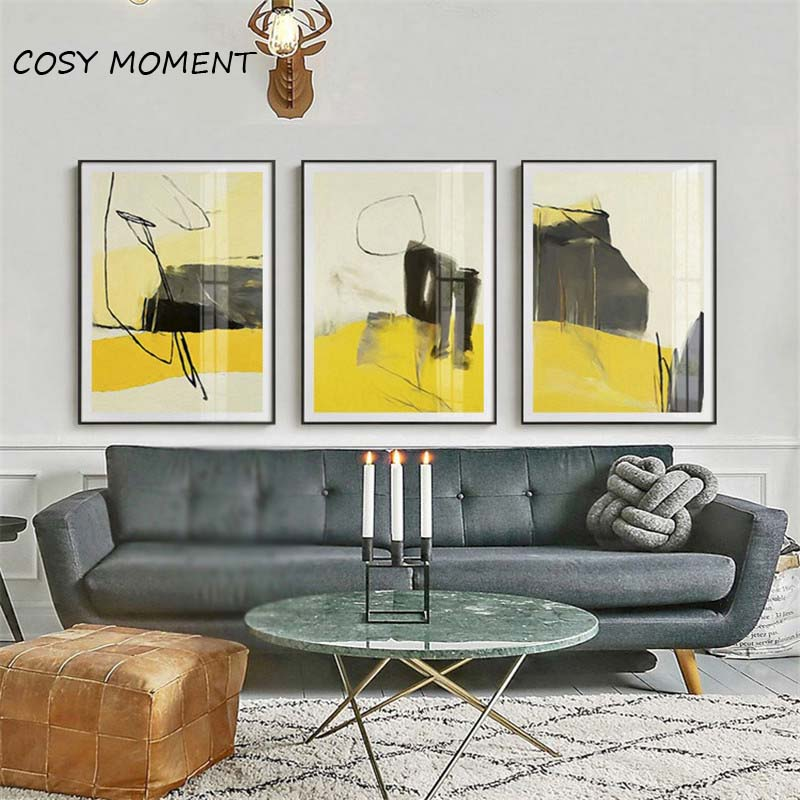 COSY MOMENT Abstract Graffiti Art Paint Canvas Painting Modular Pictures  Home Paintings Color Spray Artwork Poster Living Room  In Painting U0026  Calligraphy ...