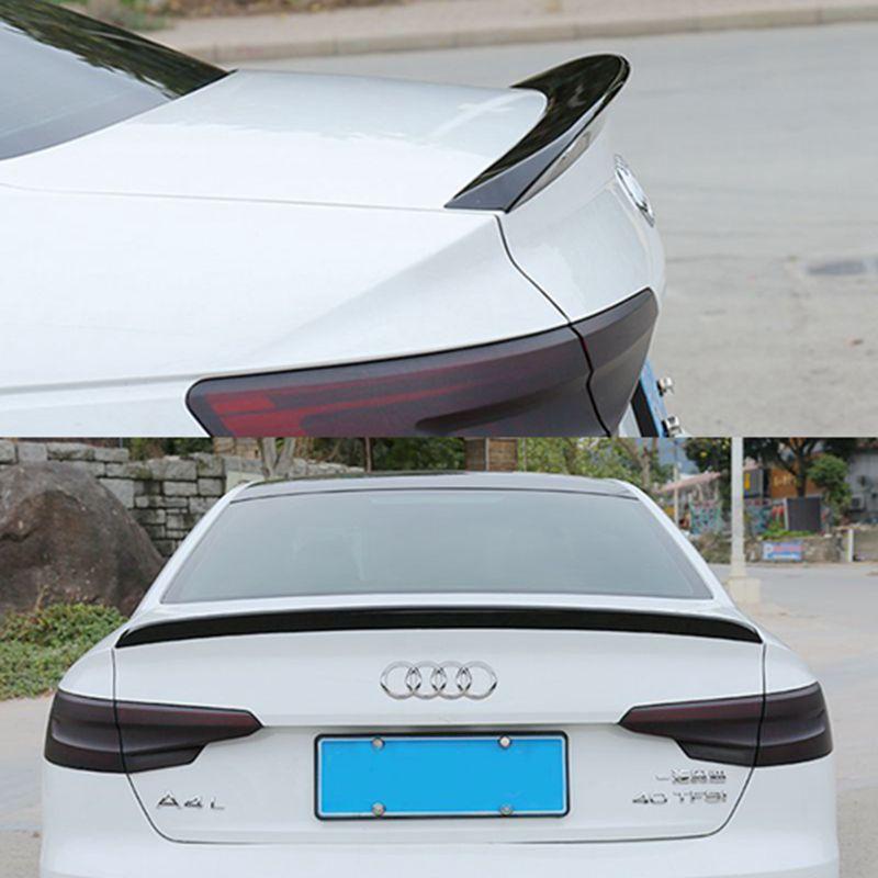 high quality ABS Plastic Unpainted Tail Wing Primer Color Rear Spoiler 1Pcs For Audi A4 A4L B9 Spoiler 2017 2018 fs75r12ke3 b9 fs75r12ke3 1pcs lot