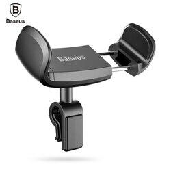Baseus 360 조정 자동차 전화 홀더 아이폰 6 7 플러스 Sumsung S8 미니 휴대 전화 스탠드 홀더 에어 벤트 전화 홀더 자동차
