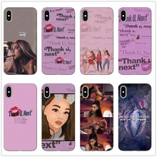 Thank U Next Ariana Grande Soft Silicone TPU Back Cover Phone Cases For iPhone X 7 7Plus 8 Plus 11 11PRO MAX SE XS XR Xs