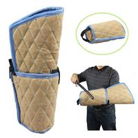 Dogs Training Bite Arm Sleeve Protection With Wooden Handle For Young Malinois Work Dog Training Work Training K9 Rottweiler