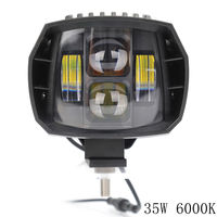 35 Вт свет работы off road ближнего света автомобиль-Стайлинг Грузовик внедорожник ATV фар для Jeep дальнего света ближнего света светодиодный вспо...
