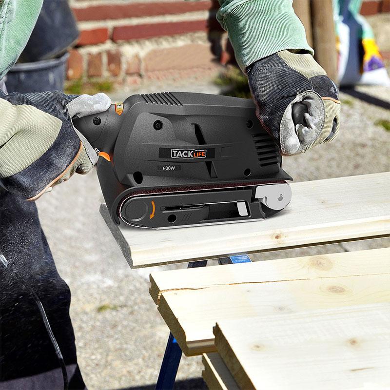 Tacklife Sanding Platform, 3 × 18-Inch Belt Sander with 13Pcs Sanding Belts