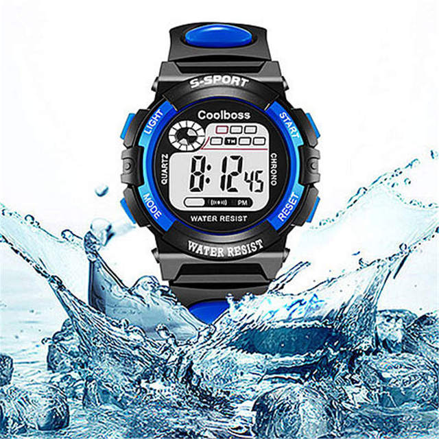 Alarm Clock Children's Watches Multifunction sports Child Watch Led Digital Disp