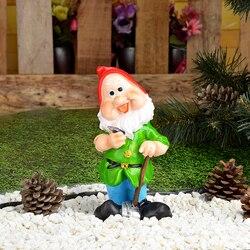 Giardino nano 22x11x7 cm a buon mercato giardino statue e sculture polyresin gnome decorazione del giardino 162-147