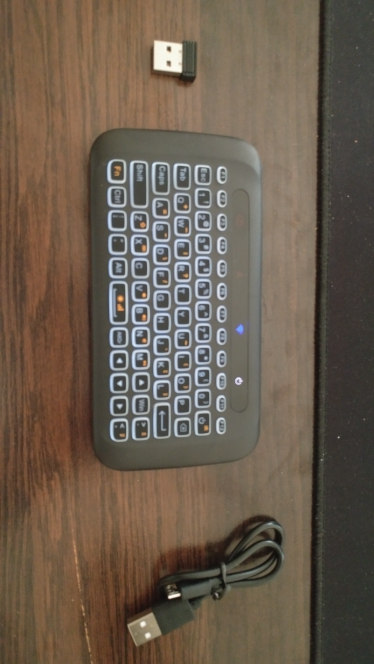 Wireless Mini Keyboard With Touchpad photo review
