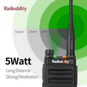 Image 3 - Radioddity GD 77 DMR Dual Zeit Slot Dual Band Digital/Analog Zwei Weg Radio 136 174/400  470MHz Ham Walkie Talkie mit Batterie