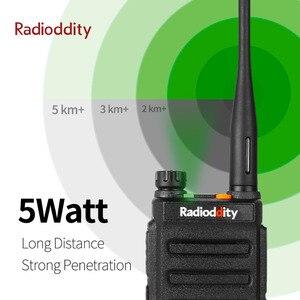 Image 3 - Radioddity GD 77 DMR כפולה זמן חריץ כפול להקת דיגיטלי/אנלוגי שתי דרך רדיו 136 174/400  470MHz חם ווקי טוקי עם סוללה