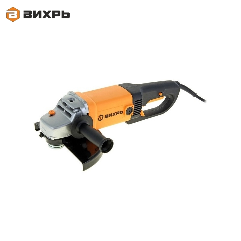 Angle grinder (bulgarian) VIHR USHM-230/2300 for grinding or cutting metal Electric portable grinder Angle drive grinder цена и фото
