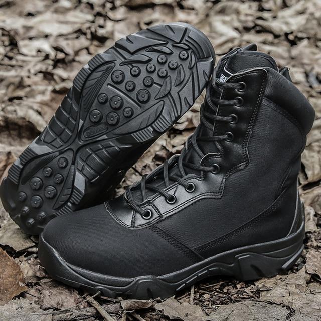 Hiking Shoes Men Women Army Tactical Boots Military Combat Shoe Bota Militar Trekking Hunting Fishing Boots Chaussures Randonnee