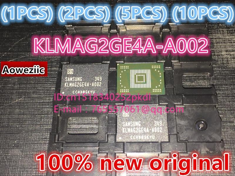 все цены на  (1PCS) (2PCS) (5PCS) (10PCS) 100% New original  KLMAG2GE4A-A002 EMMC font 16GB BGA  KLMAG2GE4A A002  онлайн
