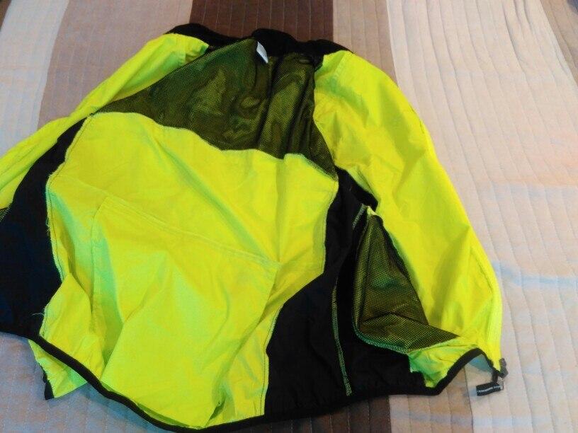 ROCKBROS Kurtka Rowerowa Wiatr Kurtka Rower Płaszcz Kolarstwo Deszcz Płaszcz Jersey Rowerów Wodoszczelna Wiatroszczelna Szybkie Suche Płaszcz