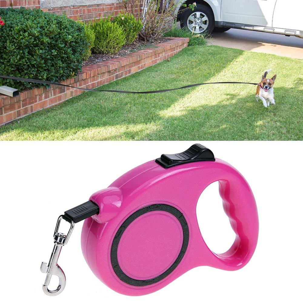 3/5M Retractable Dog Leash Automatic Pets Dog Lead Extending Puppy Walking Running Leads For Small Medium Dogs Pet Supplies