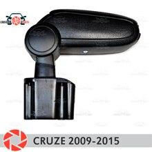 Подлокотник для Chevrolet Cruze 2009-2015 подлокотник автомобиля центральная консоль кожаный ящик для хранения пепельница аксессуары автостайлинг