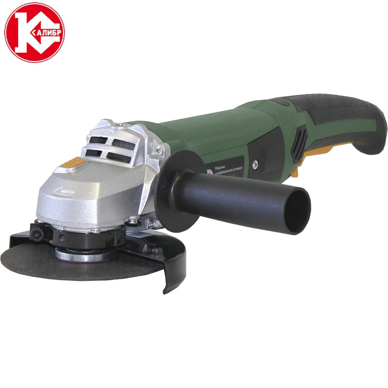 Kalibr MSHU-125/1200 Angle Grinder power tool High Quality Home improvement kalibr mshu 125 1055 angle grinder grinding machine metal polisher angular power tool metal and wood cutting sanding polishing