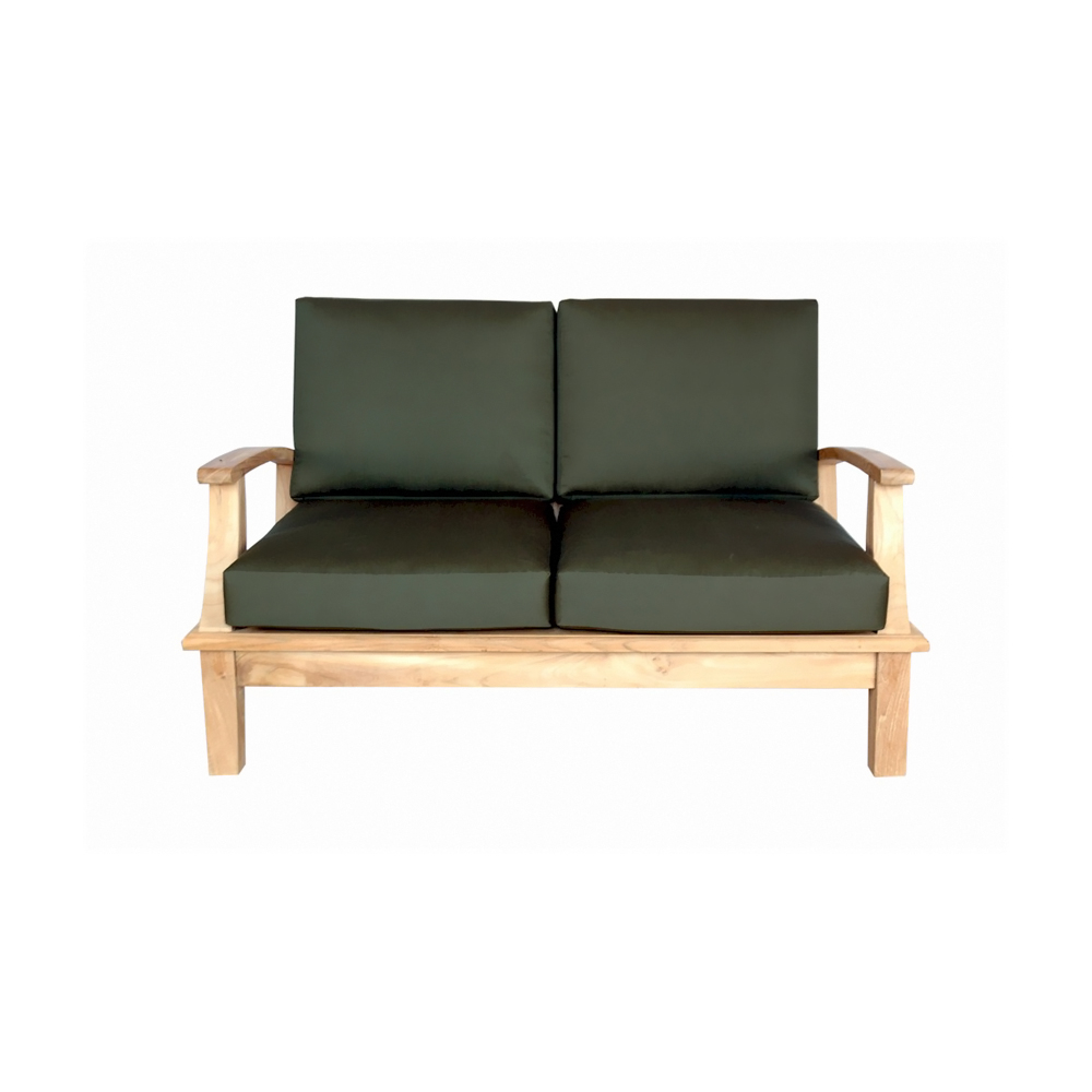 Andersonteak Outdoor Living Furniture Brianna Deep Seating Loveseat + Cushion