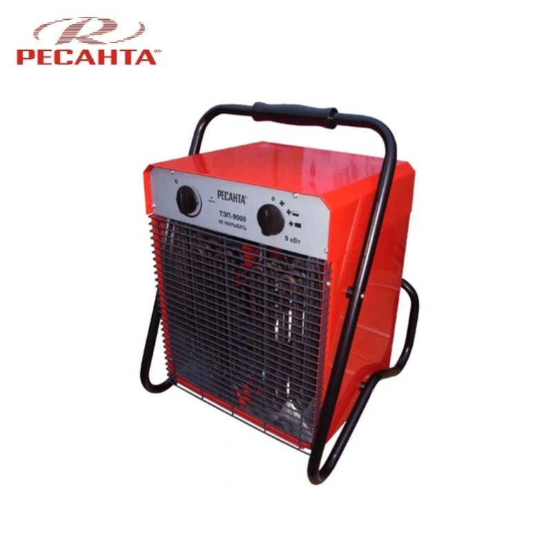 Electric heat gun TEP-9000 Hotplate Facility heater Area heater Space heater electric heat gun resanta tep 2000n compact