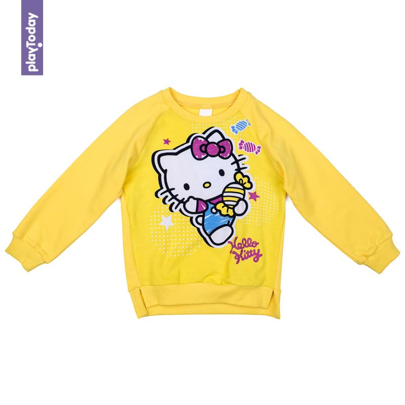 Hoodies and Sweatshirts PLAYTODAY for girls 572151 Children clothes kids clothes