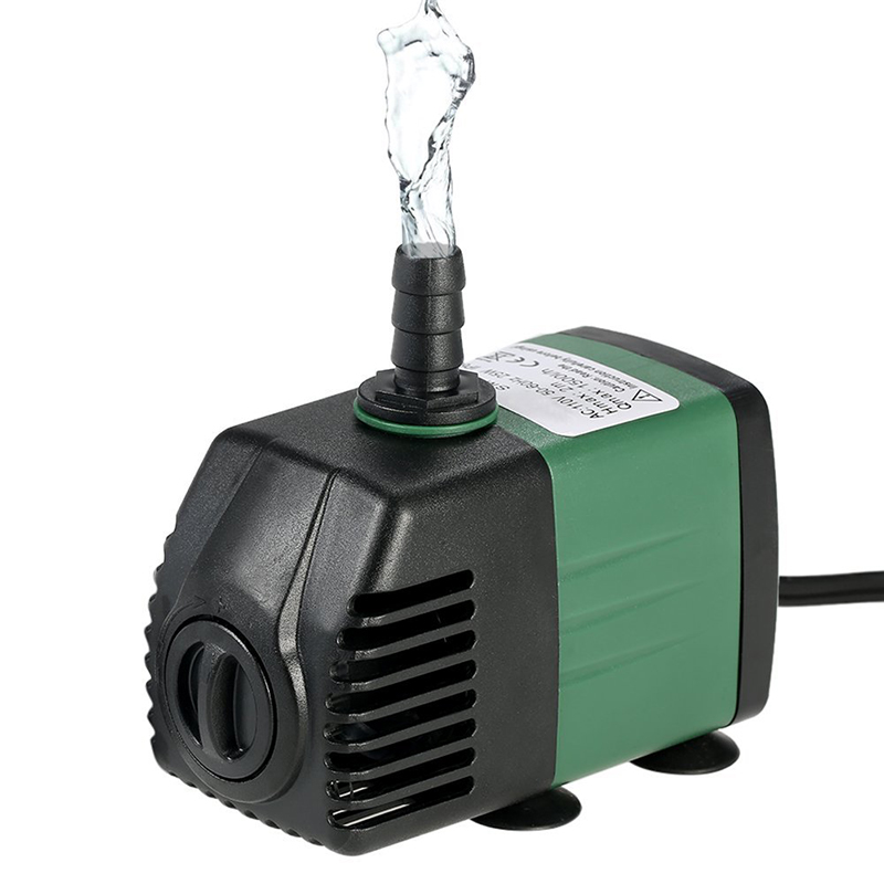 110-240V 1500L/H 25W Submersible Water Pump For Pond Aquarium Indoor Outdoor Water Garden Fish Tank 1.5M Power Cord EU Plug