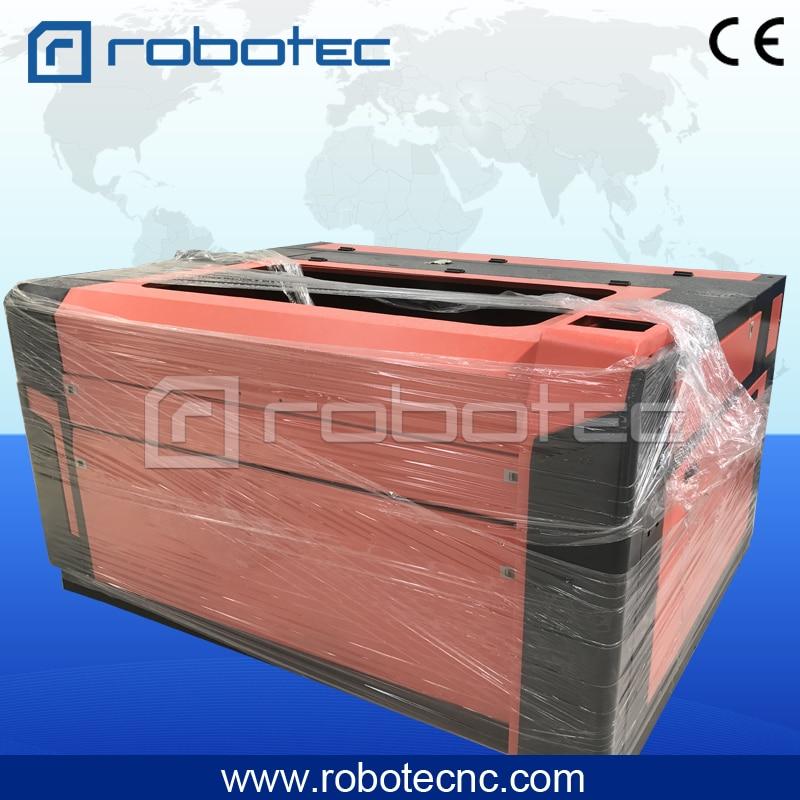 Robotec 1390 Laser Cutting Machine Fabric 1610 Laser Cutter For Sale