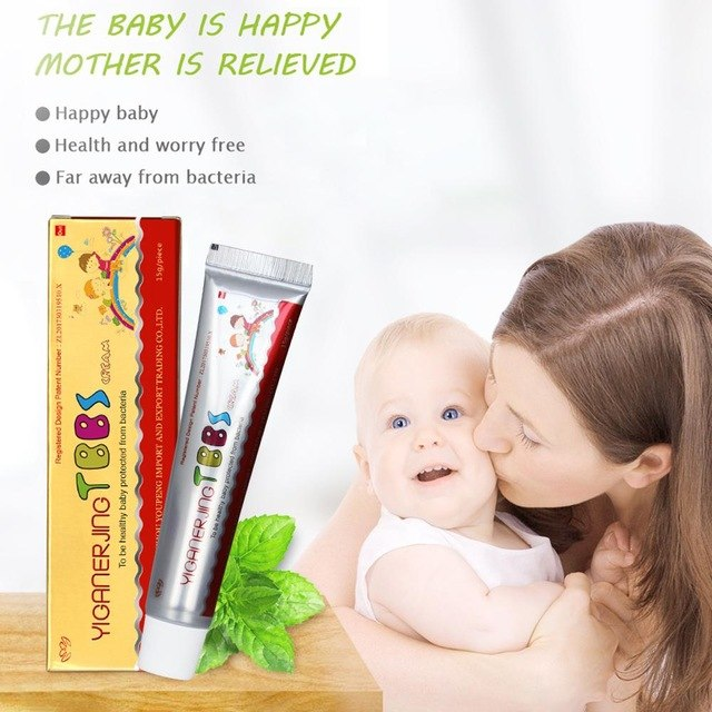 40PCS YIGANERJING Children Cream hot saling skin care products Have products retail box