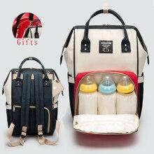 업그레이드 된 버전 Mummy Maternity Nappy Bag 대용량 유아용 베이비 여행 배낭 병 보관 젖꼭지 간호 가방