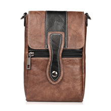 ФОТО mobile phone protective waist bag hook loop belt pouch holster sports wallet pocket  bag universal leather outdoor cover case