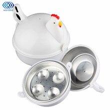 Кухонный Пароварка для яиц в форме курицы, микроволновая печь, 4 яйцеварки, новинка, Кухонная техника для приготовления пищи, пароварка, домашний инструмент