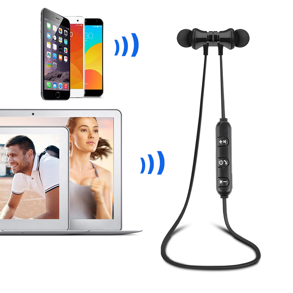Wireless Magnetic Bluetooth Earphone S8 wireless headphones sports bass bluetooth headset with mic for phone iPhone xiaomi wireless magnetic bluetooth earphone s8 wireless headphones sports bass bluetooth headset with mic for phone iphone xiaomi