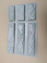 """قوالب بلاستيكية للخرسانة 3 + 3 الجص سوبر أفضل سعر حجر الجدار بلاط أسمنتي """"الطوب القديم"""" قوالب الحائط الزخرفية تصميم جديد"""