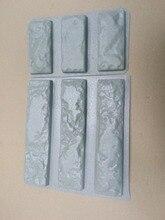 """Nhựa Khuôn Mẫu cho Bê Tông 3 + 3 Thạch Cao Siêu Giá Tốt Nhất Tường Đá Xi Măng Gạch """"Gạch cũ"""" Trang Trí tường khuôn mẫu thiết kế mới"""