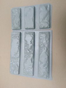 """Image 1 - Plastic Mallen voor Beton 3 + 3 Gips Super Beste Prijs Muur Steen Cement Tegels """"oude Bakstenen"""" Decoratieve muur mallen nieuwe ontwerp"""