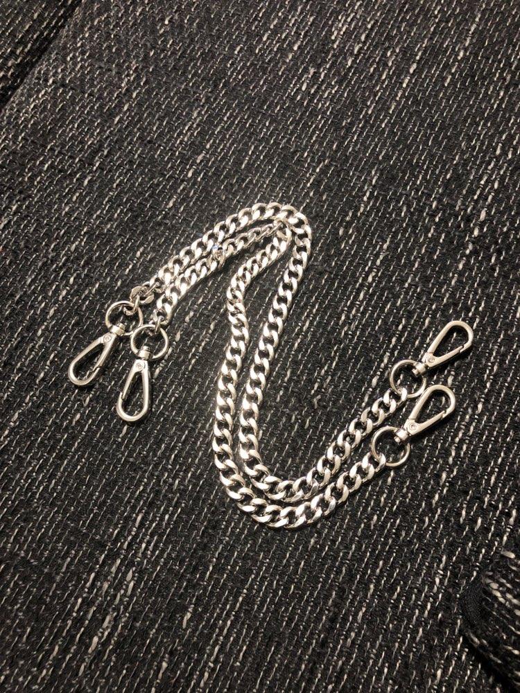 120cm (DIY 40cm-140cm) Gold, Silver, Gun Black, Bronze 9mm Metal Replacement Chain Shoulder Bags Straps for Handbags Handles photo review