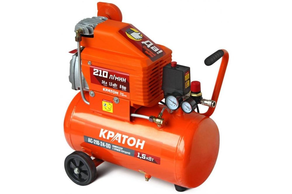 Compressor KRATON with direct transmission AC-210-24-DD compressor kraton with direct transmission ac 350 50 ddv