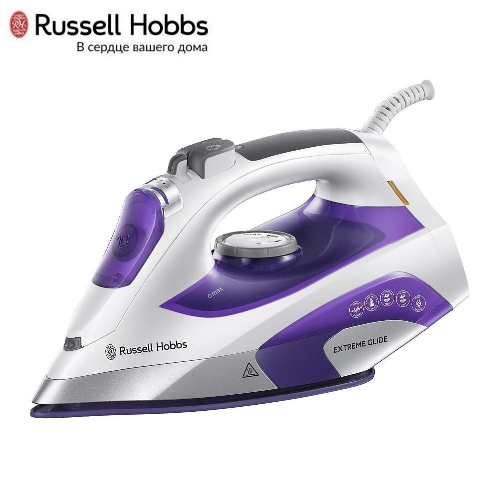 Iron Russell Hobbs 21530-56 Iron for ironing Mini iron steam iron Steam generator for clothing Irons Electric steamgenerator Small iron недорого