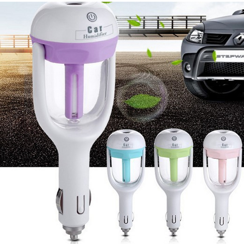 ITAS3322 Vehicle car charger Humidifier aromatherapy spray humidification negative ion air purifier mini portable humidifier car household humidifier negative ion air purifier purification machine aromatherapy machine car oxygen bar