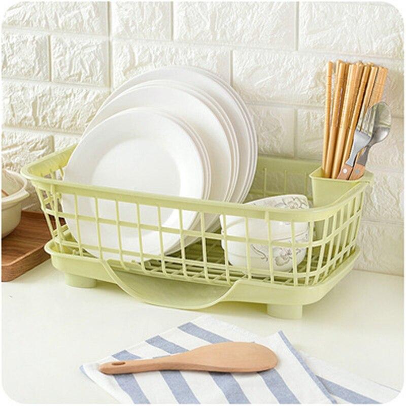 Multifunction Kitchen Drain A684 Plastic Tableware Chopsticks Rack Shelf Storage Dishes Lishui Wholesale