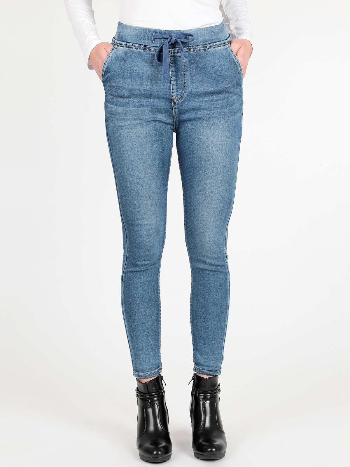 Jeans With Elastic Waist