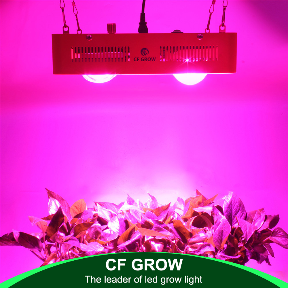 Dimmable Full Spectrum LED Grow Light 800W Citizen Bridgelux COB Indoor Hydroponics Greenhouse Plant All Stage