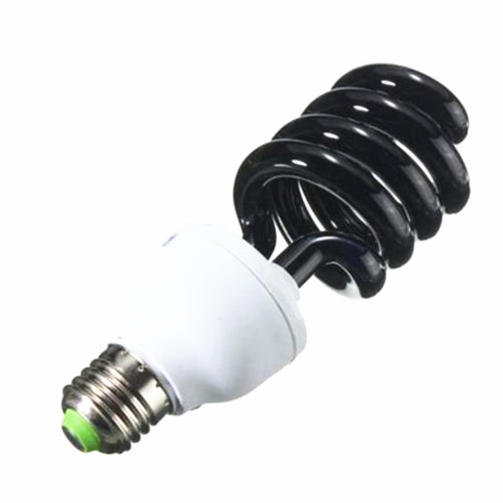 E27 30W 40W UV <font><b>Light</b></font> Bulb Ultraviolet Black <font><b>Light</b></font> Bulb Spiral Fluorescent Energy Saving <font><b>Light</b></font> AC220V image