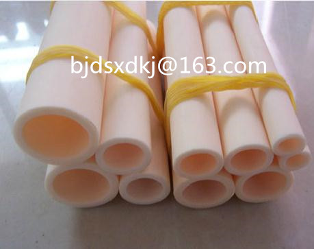 99.5% alumina tube / furnace tube / OD*ID*L=4.5*3*910mm / ceramic tube / vacuum furnace tube 500w ceramic tube resistors 95k ohm wire wound fixed tube resistance