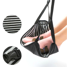 Portable Office Foot Hammock Mini Feet Rest Stand Leisure Hanging For Desk Table Chair