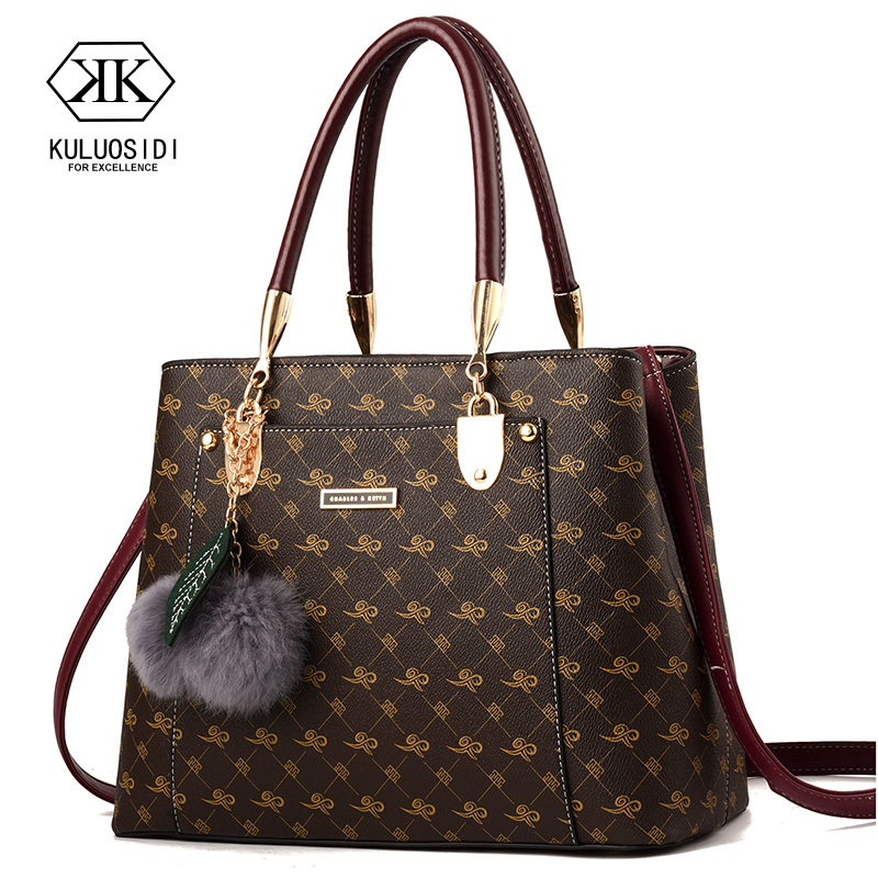 Bag Handbag Shoulder-Bag Ladies Designer Brand Women for Sac Main title=