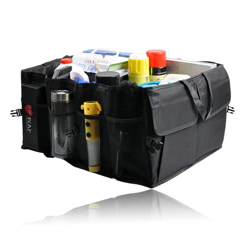 CAR BOOT CLEAN TRUNK TIDY ORGANISER MULTIPOCKET FOLDABLE BAG ZEBRA PRINT SALE
