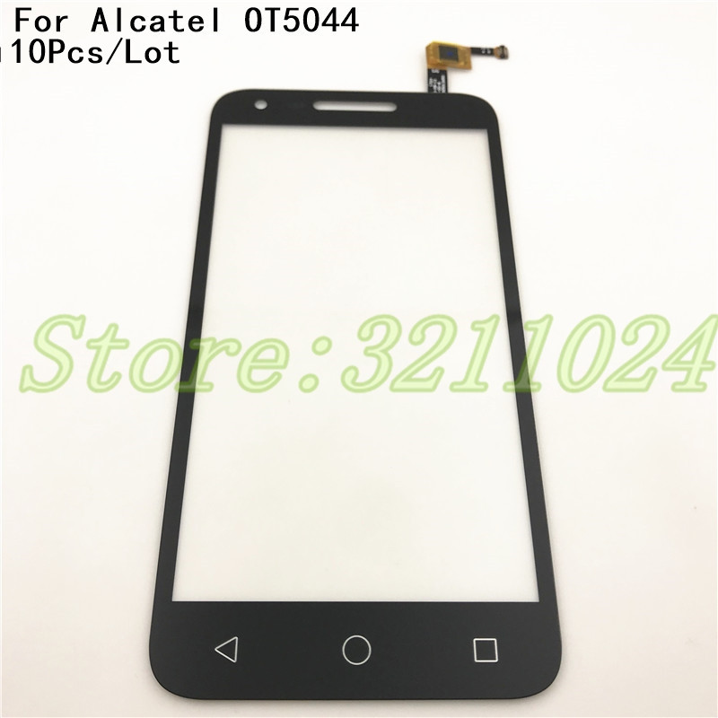 10 шт./лот 5,0 дюймов сенсорный экран панель дигитайзер аксессуары для Alcatel One Touch U5 5044R смартфон запчасти для ремонта