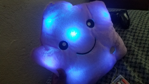 Glowing Star Pillow photo review