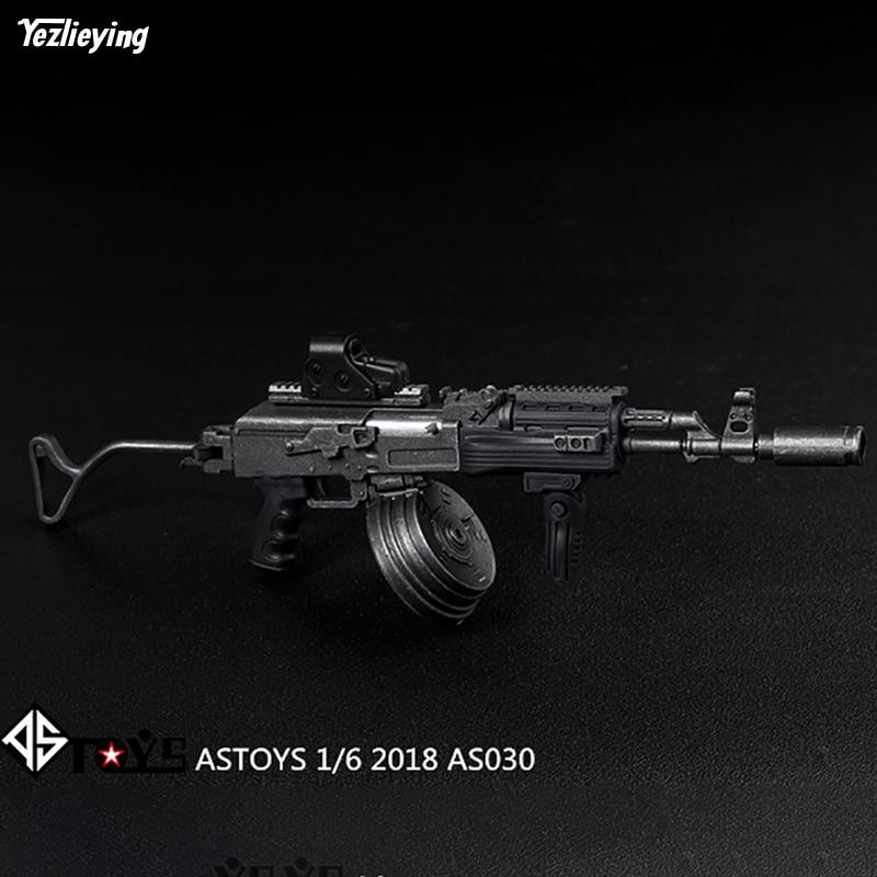 ASTOYS 1//6 scale plastic AK47 AKM assault rifle For 12/'/' Figure toys