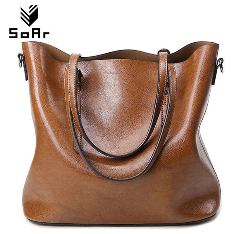 SoAr Women Bag Luxury Brand 2016 Big Women Leather Handbags Designer Tote Crossbody Bag For Women Shoulder Bag Fashion Handbag 5