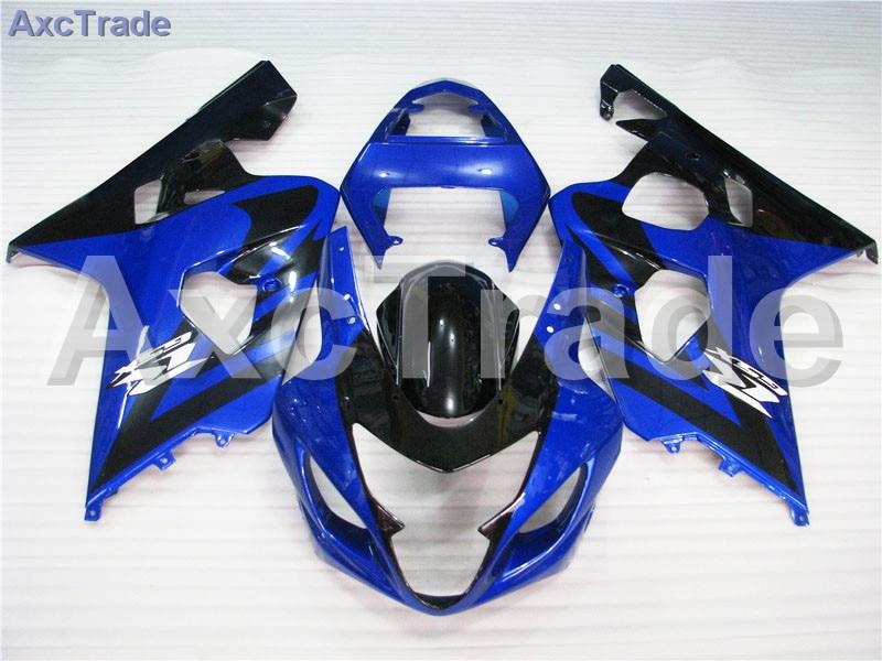 Motorcycle Fairings For Suzuki GSXR GSX-R 600 750 GSXR600 GSXR750 2004 2005 K4 04 05 ABS Plastic Injection Fairing Bodywork Kit abs fairing kit for suzuki gsxr600 750 04 05 gsxr600 gsxr750 gsx r600 750 k4 2004 2005 fashion rizla blue fairings set sw97
